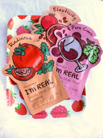 Tony Moly I'm Real Sheet Masks Review (2)