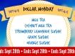 Dollar Monday 9.14.15