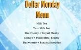 Dollar Monday Menu!!