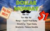 Dollar Monday Menu!