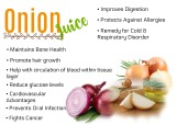 Onion Juice Benefits